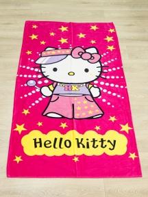 Полотенце велюровое пляжное Турция Hello-Kitty 75х150 см