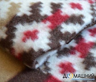 Одеяло полушерстяной ТМ Ярослав 44461 красное