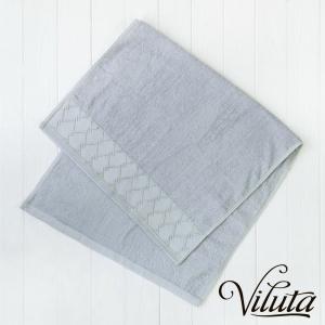 Полотенце махровое ТМ Вилюта Ромб серый