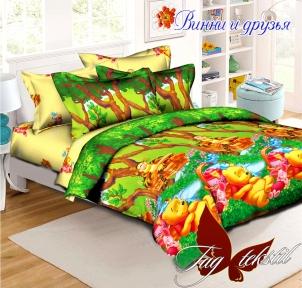 Подростковый постельный комплект ТМ TAG Винни и друзья