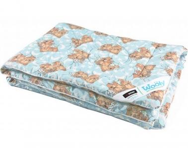 Одеяло детское шерстяное ТМ Sonex Wooly 110х140