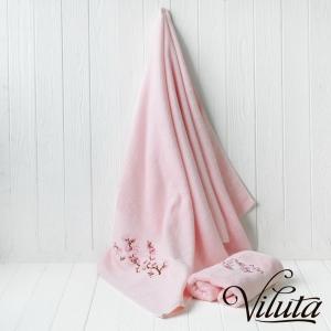 Полотенце махровое ТМ Вилюта Сакура розовая
