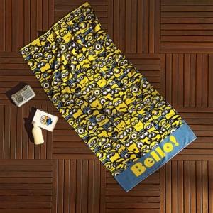 Полотенце пляжное ТМ TAC Minions Bello 75х150