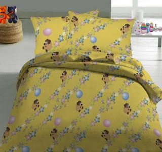 Детский постельный комплект ТМ Nostra бязь 10-0112 Yellow