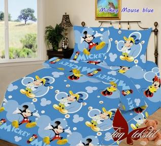 Подростковый постельный комплект ТМ TAG Mickey Mouse blue