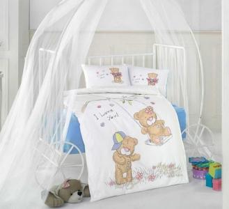 Детский постельный комплект ТМ Clasy Качели для мальчиков