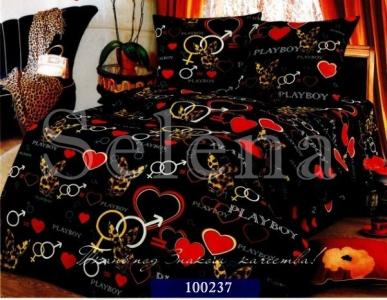 Постельное белье ТМ Selena бязь Плейбой 100237