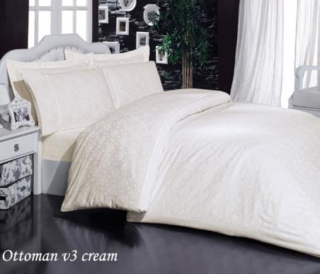 Постельное бельё ТМ Mariposa Ottoman cream V3 евро-размер