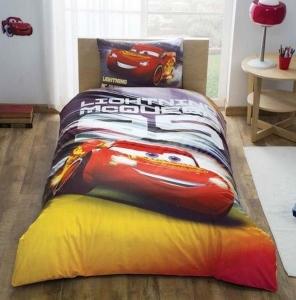 Подростковый постельный комплект ТМ TAС Cars Lightning Mcqueen