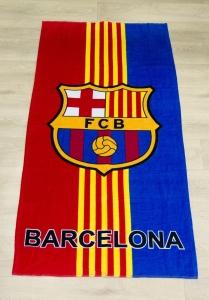 Полотенце велюровое пляжное Турция Barcelona 75х150