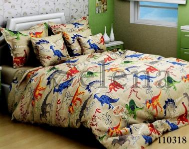 Подростковое постельное белье ТМ Selena бязь Динозаврики 110318