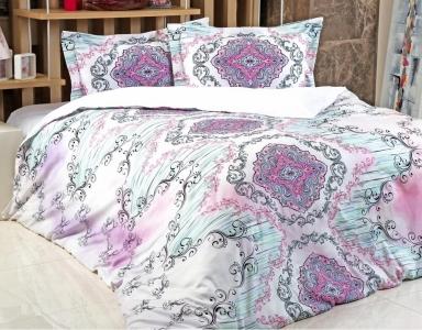 Постельное белье ТМ Irya сатин-digital Violet евро-размер