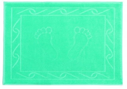 Полотенце для ног ТМ Hobby Hayal салатовое 50х70
