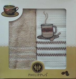 Набор полотенец кухонных Philippus 2BR003