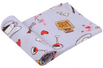 Полотенце вафельное ТМ Руно Париж 35х70