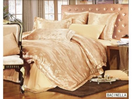 Постельное бельё ТМ Arya Pure Жаккард Bacinella евро-размер