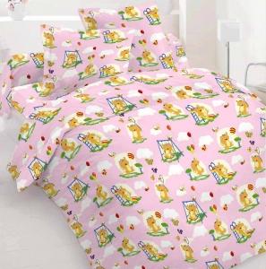 Детский постельный комплект ТМ Nostra бязь Gold 10-0062 Pink