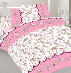 Постельное белье ТМ Nostra бязь Gold 21594 Pink