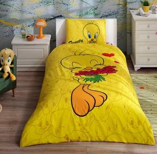 Подростковый постельный комплект ТМ TAС Tweety Hearts