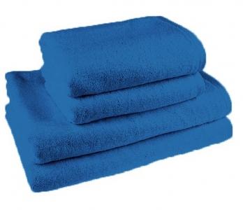 Простынь махровая ТМ Novita гладкокрашенная blue