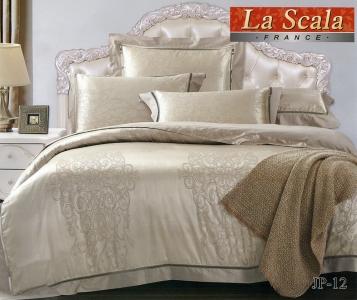 Постельное белье ТМ La Scala жаккард (JP-12)