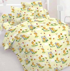 Детский постельный комплект ТМ Nostra бязь Gold 10-0062 Yellow