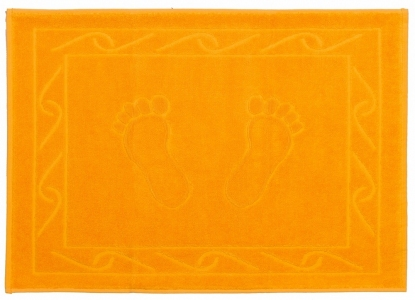 Полотенце для ног ТМ Hobby Hayal желтое 50х70