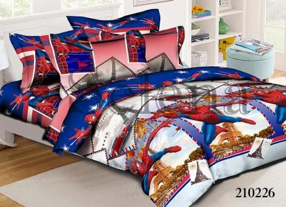 Подростковое постельное белье ТМ Selena ранфорс 210226 Человек Паук 2