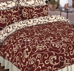 Постельное бельё ТМ Вилюта ранфорс (5400 коричневый)