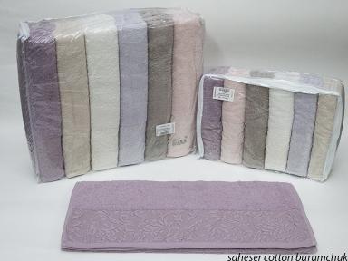 Набор полотенец из 6 штук Şaheser Burumchuk