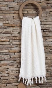Полотенце махровое ТМ Buldans Cakil White