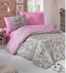 Подростковое постельное белье ТМ Cotton Box ранфорс Jasmin Pembe