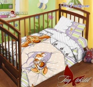 Детский постельный комплект ТМ TAG Пес в пижаме