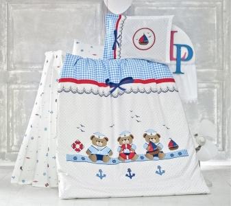 Детский постельный комплект ТМ Luoca Patisca Sailor