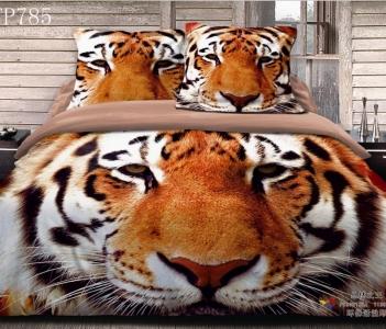 Постельное бельё ТМ Love You Тигр STP785 евро-размер