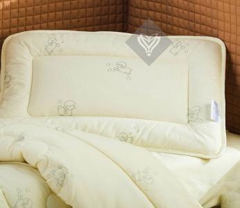 Подушка детская ТМ Идея Baby шерсть 40х60