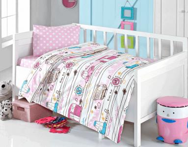 Детский постельный комплект ТМ TAС Brielle 502 V3 Pink