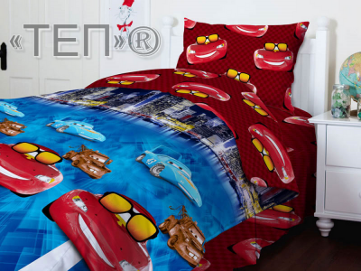 Подростковое постельное бельё ТМ ТЕП Тачки
