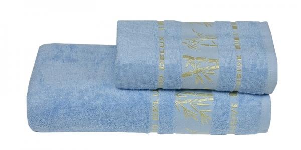 Полотенце ТМ Gursan Bamboo голубое