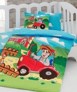 Детский постельный комплект ТМ Class ранфорс Farm v2