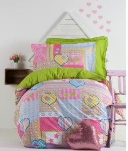 Подростковое постельное бельё ТМ Karaca Home Poppy Girls