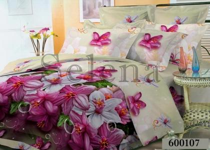 Постельное белье ТМ Selena Лилея поликоттон Орхидея 600107