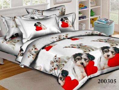 Подростковое постельное белье ТМ Selena ранфорс (200305) Любимец