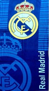 Полотенце велюровое пляжное Турция Real Madrid 2 75х150 см