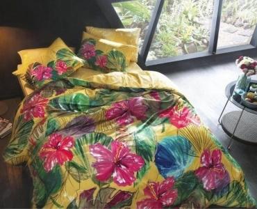 Постельное белье ТМ TAC бамбук Lemon евро-размер