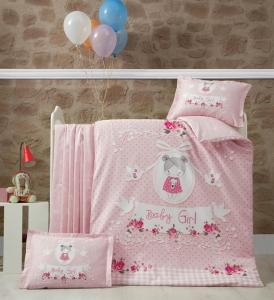 Детский постельный комплект ТМ Luoca Patisca Pretty Girl