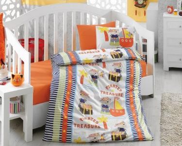Детский постельный комплект ТМ Cotton Box ранфорс Hazine