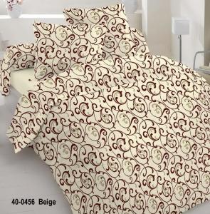 Постельное белье ТМ Nostra бязь Gold 40-0456 Beige полуторное
