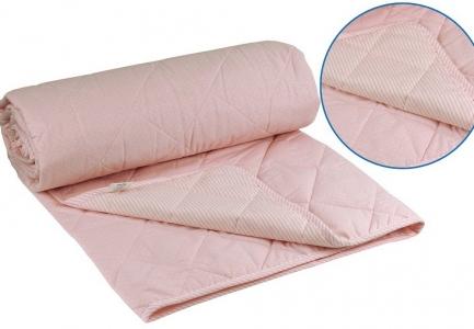 Одеяло летнее хлопковое ТМ Руно розовое 172х205