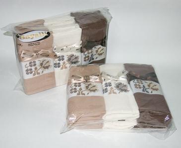 Набор полотенец кухонных ТМ Bayalli Coffee 12шт 45х70